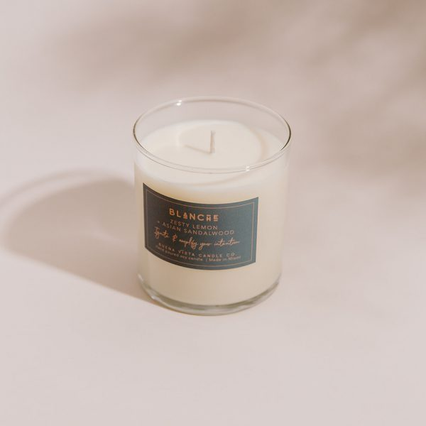 Blanche Soy Candle in Minimalist Tumbler