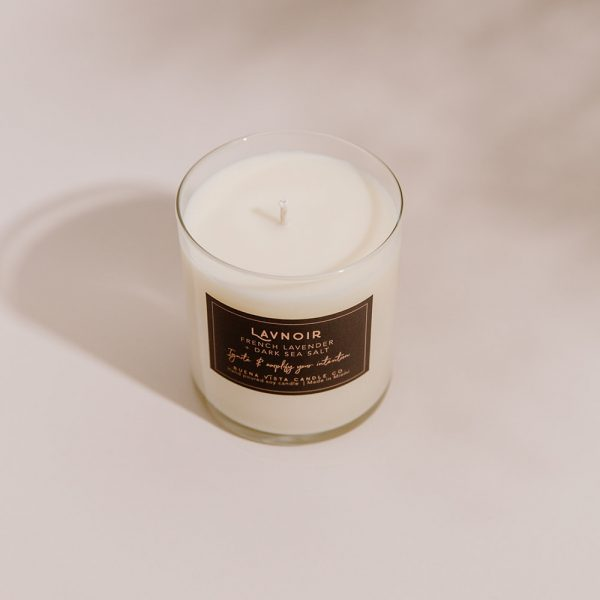 Lavnoir Soy Candle in Minimalist Tumbler